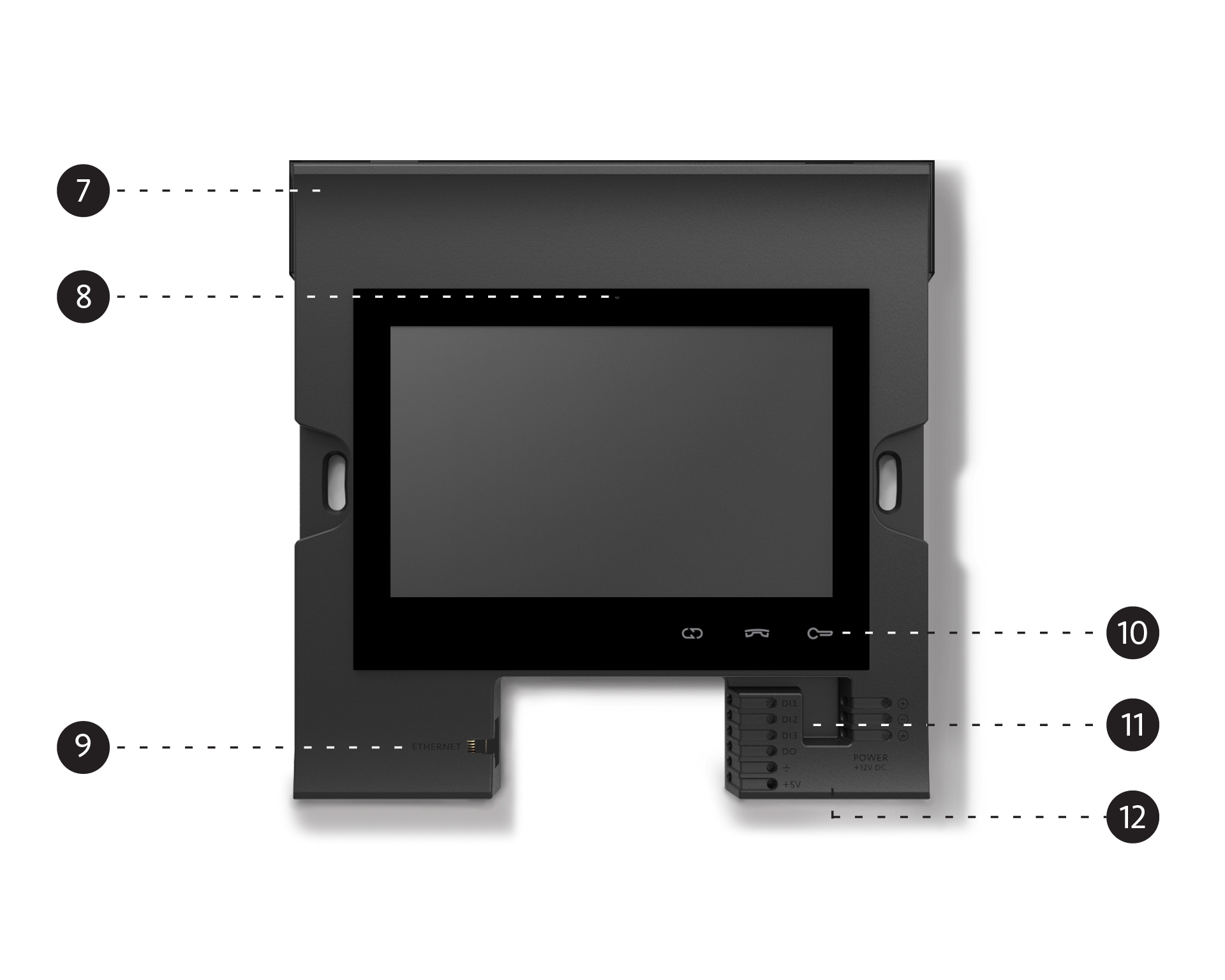 Amroad P5 - Breakdown - Without Cover Panel - Front