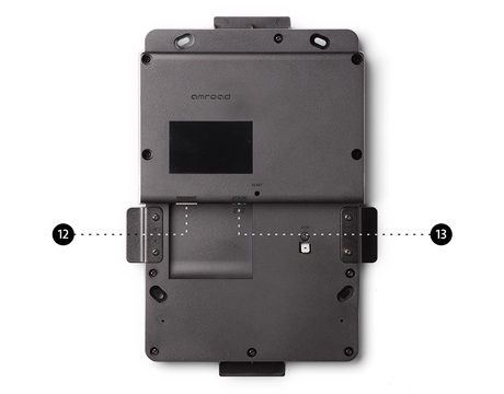 Amroad P9 - Breakdown - Without Cover Panel - Back